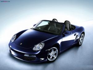 Blue marine Porsche