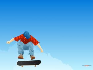 Skateboard jump