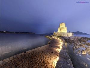 Port in Messenia (Greece)