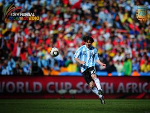 Messi in the World Cup South Africa 2010