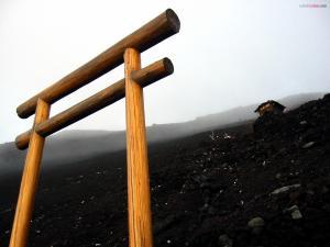 Gate to Mount Fuji