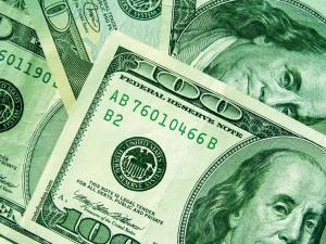 American dollars 100 bills