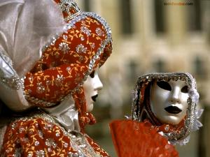 Mask of the Carnival of Venice