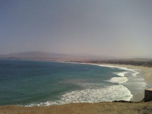 Beach in the district of Chala, Caravelí, Arequipa, Peru