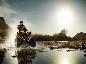 Quad (all-terrain vehicle, ATV)