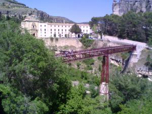 San Pablo Bridge, in Cuenca (Spain)