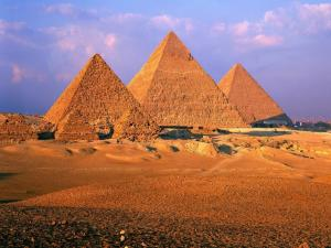 The majestic Pyramids of Egypt