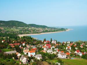 Small town on Lake Balaton (Hungary)