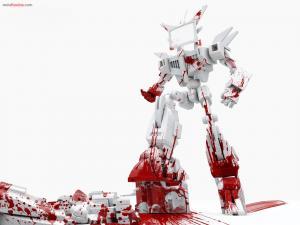 Bloody robot