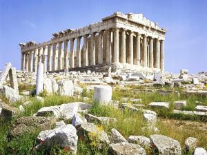 Ruins of the Parthenon (Athens, Greece)