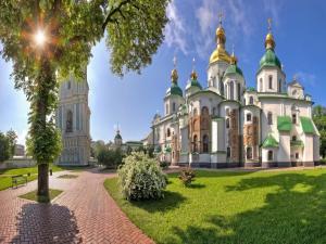 Saint Sophia Cathedral in Kiev (Ukraine)