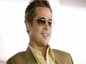 Brad Pitt with sunglasses