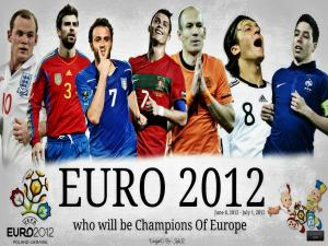 EURO 2012 - Who will be champions of Europe?