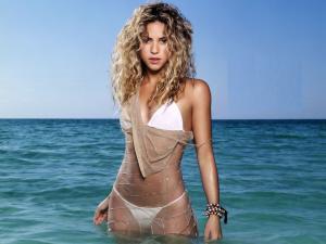Shakira at sea