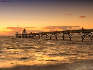 Clevedon Pier (Somerset, England)
