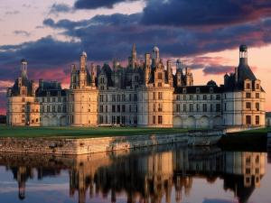 The royal Château de Chambord, in France