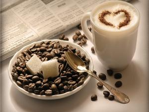 A cappuccino with much love