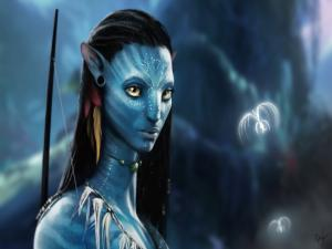 Portrait of Neytiri (Avatar)