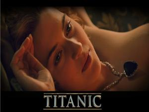"Kate Winslet in ""Titanic"""