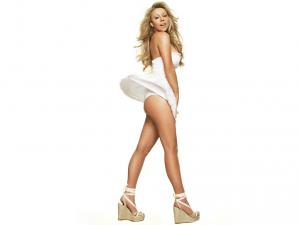 Mariah Carey in sexy clothes