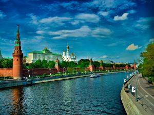 The Kremlin, seat of the Russian Government (Moscow)