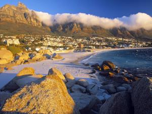 Beach in Cape Town (Africa)