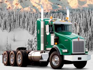 Kenworth T800 Trailer