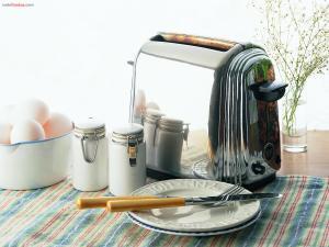 Preparing the breakfast
