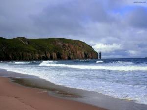 A beach any