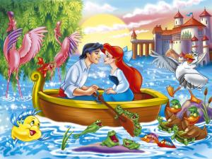 Princess Ariel (the Little Mermaid) and Prince Eric
