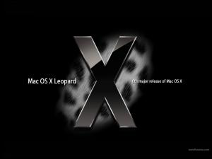 Mac OS X Leopard: 6th major release of Mac OS X