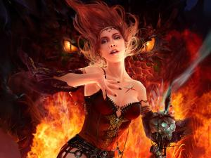 The princess of fire