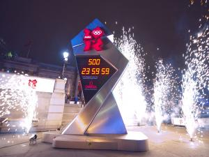 Countdown to opening ceremony of the Olympic Games in London 2012