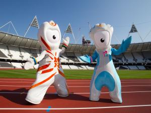 Human pets of the 2012 Olympic Games