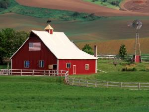 Farm in Palouse, eastern Washington