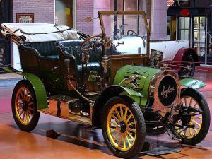 Spyker, a vintage car