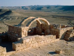 The city of Avdat, in Negev desert (Israel)