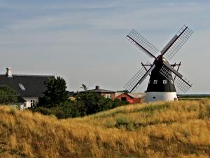 Small rural windmill