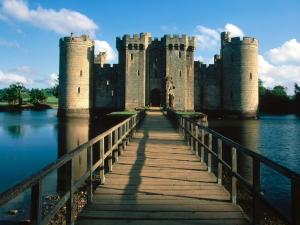 Entrance to Bodiam Castle (England)