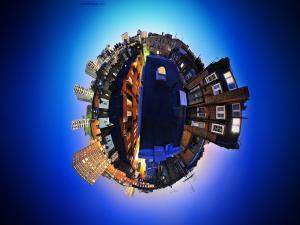 City in a miniworld