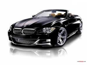 BMW M6 black