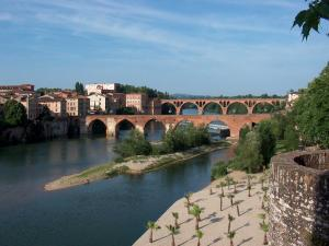 Stone bridges in Tarn (Albi, France)