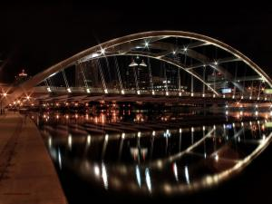 Ford street bridge, Downtown Rochester (New York)