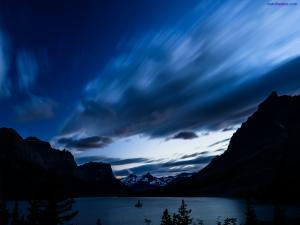 Saint Mary Lake, in Glacier National Park (Montana)