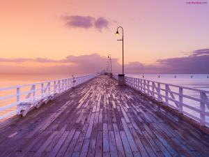 Shorncliffe pier (Brisbane, Queensland, Australia)