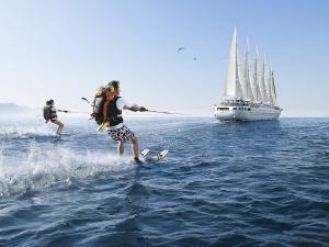Holidays in waterskiing