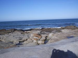 "Coast in ""Mar del Plata"" (Argentina)"