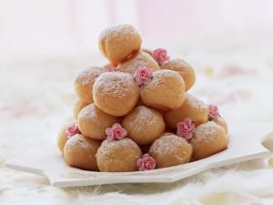 Cream fritters