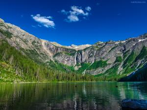 Avalanche Lake (Glacier National Park, Flathead County, Montana)