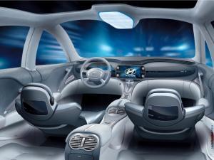 Interior of Hyundai Neos (Neos 3 Concept 2005)